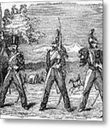 Mexican American War, 1846 Metal Print