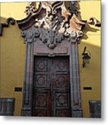 Mexican Door 28 Metal Print