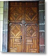 Mexican Door 29 Metal Print