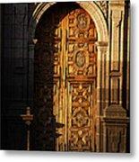 Mexican Door 31 Metal Print