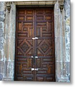 Mexican Door 32 Metal Print