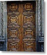 Mexican Door 4 Metal Print