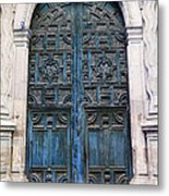 Mexican Door 6 Metal Print