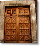 Mexican Door 67 Metal Print