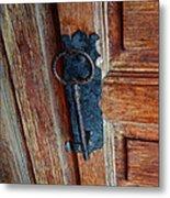 Mexican Door Decor 3  Metal Print