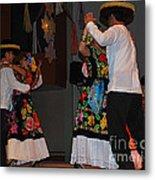 Mexican Folk Dancers 3 Metal Print