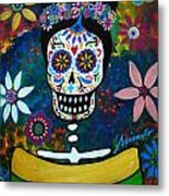Mexican Lady Metal Print