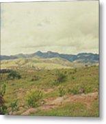 Mexican Mountains Metal Print