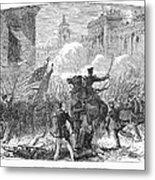 Mexican War: Monterrey Metal Print by Granger