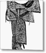 Mexico: Saddle, 1882 Metal Print