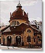 Mexikoplatz Train Station Metal Print