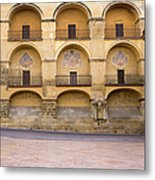 Mezquita And Plaza Del Triunfo Metal Print