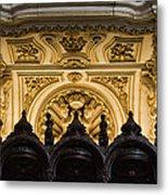 Mezquita Cathedral Choir Stalls Details Metal Print