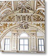 Mezquita Cathedral Renaissance Ornamentation Metal Print