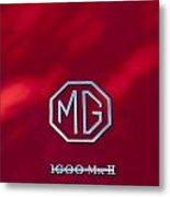 Mg 1600 Mk II Emblem Metal Print
