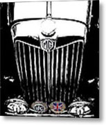 Mg Grill With Dash Of Color Metal Print