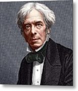 Michael Faraday, English Chemist Metal Print