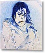 Michael Jackson - History Metal Print by Hitomi Osanai