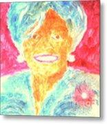 Michelle Obama 2 Metal Print by Richard W Linford