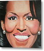 Michelle Obama Metal Print by Timothe Winstead