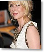 Michelle Williams Wearing A 3.1 Phillip Metal Print
