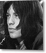 Mick Jagger 1968 Metal Print