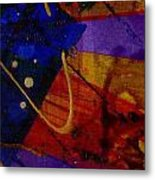 Mickey's Triptych - Cosmos IIi Metal Print