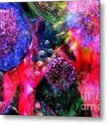 Microscope Dreaming 4 Metal Print