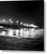 Mid-night Mist Metal Print