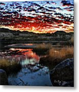 Middle Earth Hdr2 Metal Print