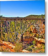 Midgley Bridge Sedona Arizona Metal Print