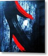Midnight And Moonlight Metal Print