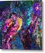 Midnight Kiss  Metal Print