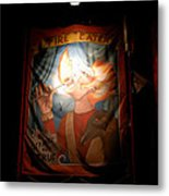 Midway Frights Metal Print