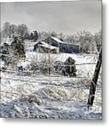 Midwestern Ice Storm - D004825 Metal Print