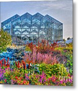 Miejer Gardens Revisited Metal Print