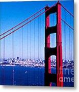Mighty Golden Gate Metal Print