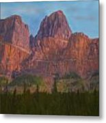 Mighty Mountains Metal Print