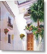 Mijas Spain Metal Print