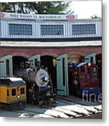 Mike Watson St. Turnhouse - Traintown Sonoma California - 5d19249 Metal Print