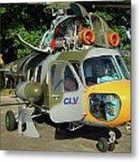 Mil Mi-2 Hoplite Metal Print