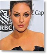 Mila Kunis At Arrivals For Ifps 20th Metal Print by Everett