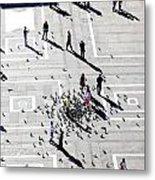 Milan Duomo Square Metal Print