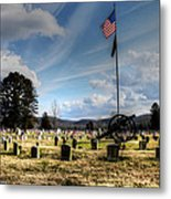 Military Honors Metal Print