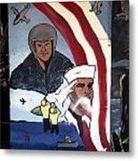 Military Mural Metal Print