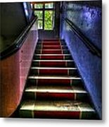 Military Steps Metal Print by Nathan Wright