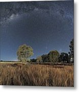 Milky Way Over Parkes Observatory Metal Print