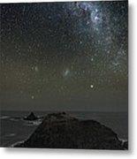 Milky Way Over Phillip Island, Australia Metal Print by Alex Cherney, Terrastro.com