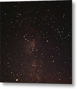 Milky Way Starfield Metal Print by Alan Sirulnikoff