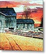 Mill Creek Farm Metal Print